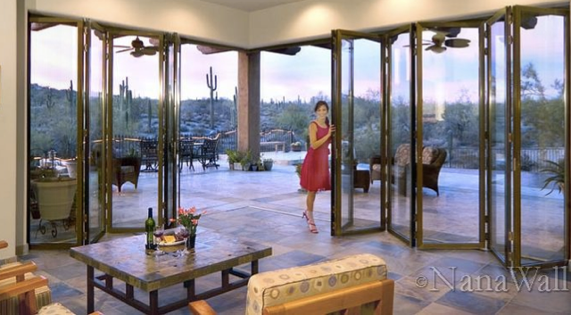 Nana door nanawall bifold doors glass for Nana sliding glass doors