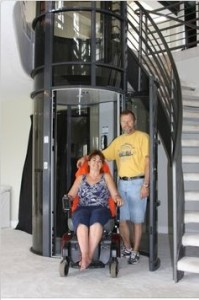 aging in place phoenix wheelchair pneumatic elevator