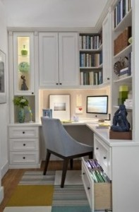 mini home office