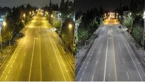 LED lighting distortion