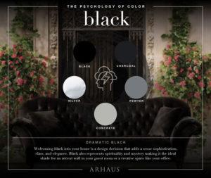 Black color scheme
