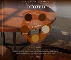 Brown color scheme