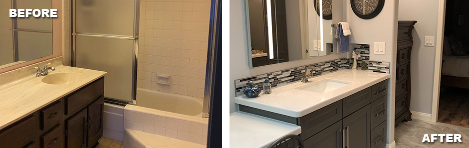 Bathroom Remodel – Before & After