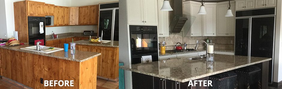 Kitchen Remodeling – Updating to Tuxedo Color