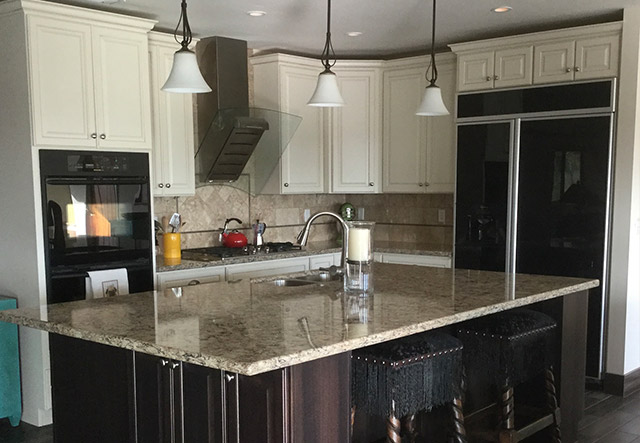 innovative updated kitchen colors | Kitchen Update - Tuxedo Colors - Scottsdale