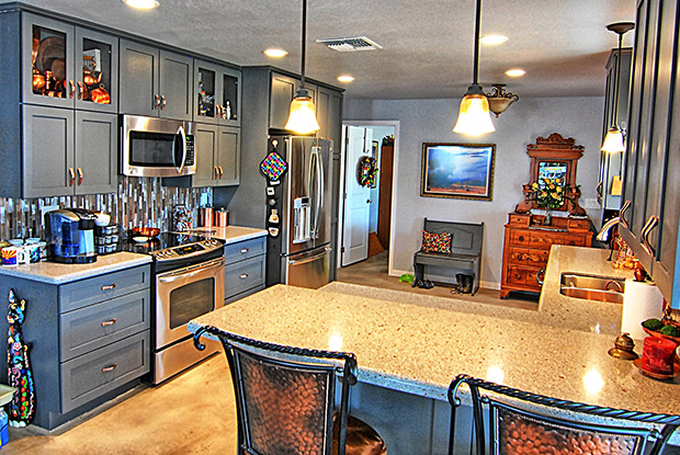 Shades Of Gray In Scottsdale Kitchen Remodeling