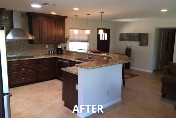 phoenix home remodeling before after - Before And After Home Remodel