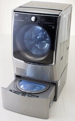 LG Twin Clothes Washer Laundry Innovation