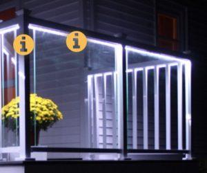 Regal Aluminum Railing with LED