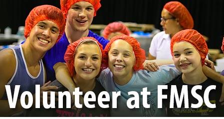 Volunteers at FMSC