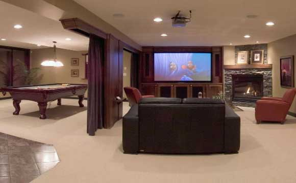 media-room-basement